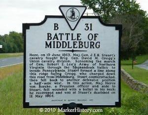 battle of middleburg