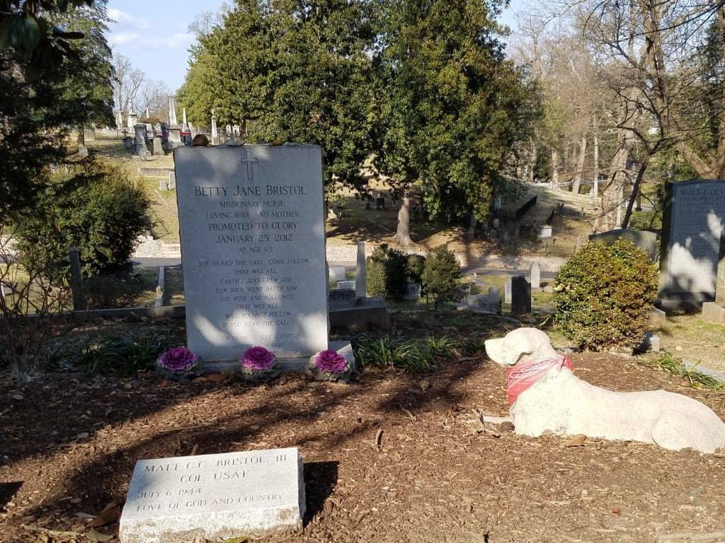 hollywood cemetery dog guard
