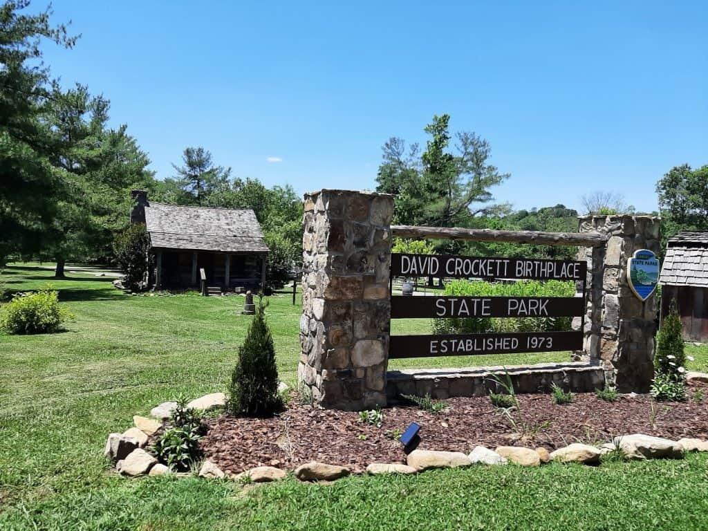 davy crockett birthplaces